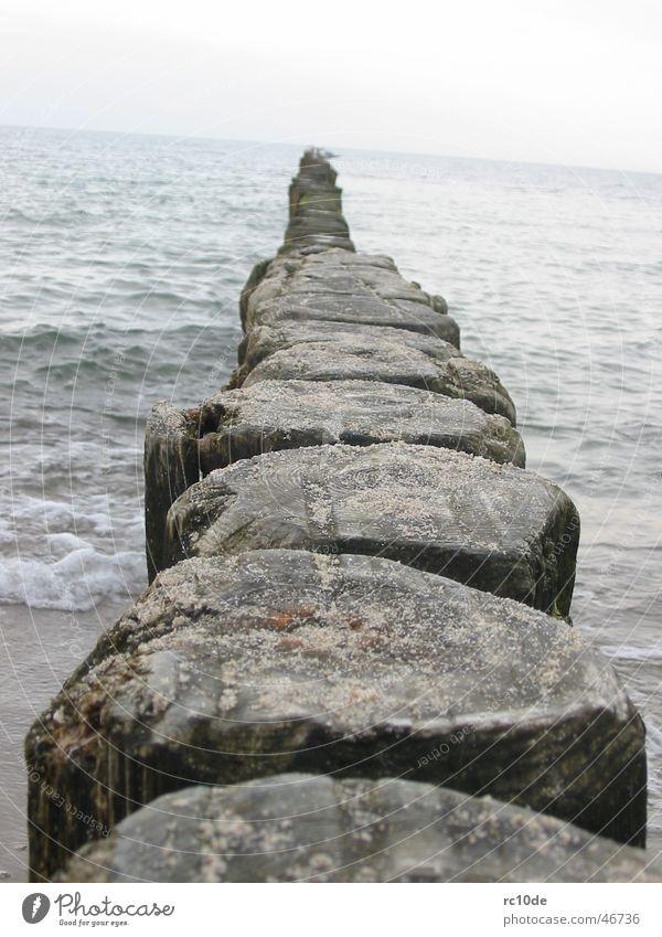 Ostsee - Ein Tag am Meer Wasser Strand Sand Wellen Schaum Kühlungsborn