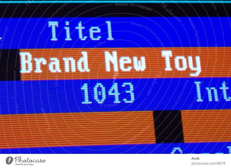 Musiktitel Musik Technik & Technologie Lied Elektrisches Gerät Datenbank Bildschirmfoto