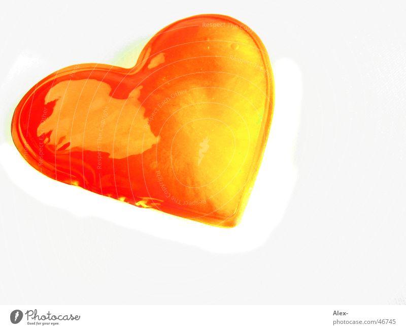 glowing love rot Liebe Herz Valentinstag
