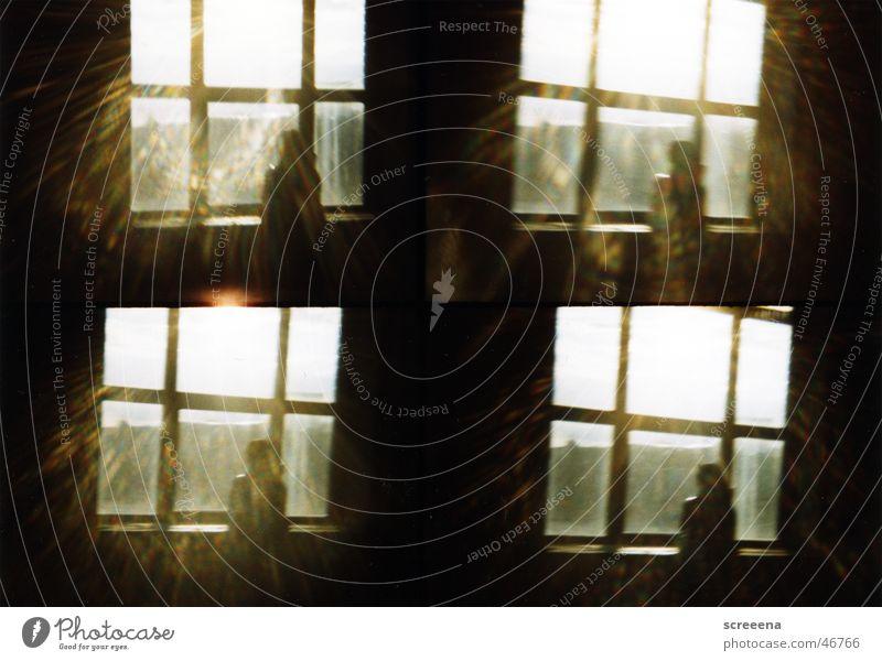 You Take Me Away Frau Mensch Sonne dunkel Fenster Gebäude Wärme hell Industriefotografie stehen