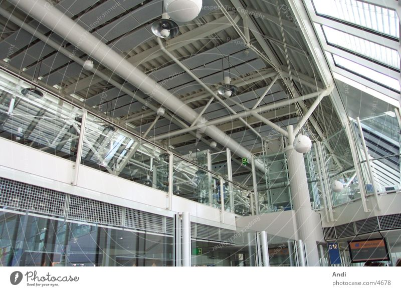 Airport II München Elektrisches Gerät Technik & Technologie Flughafen Decke Architektur