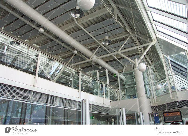 Airport II Technik & Technologie München Flughafen Decke Elektrisches Gerät