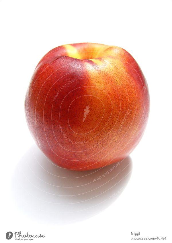 rasierter Pfirsich :) Nektarine saftig Makroaufnahme Frucht Ernährung niggl
