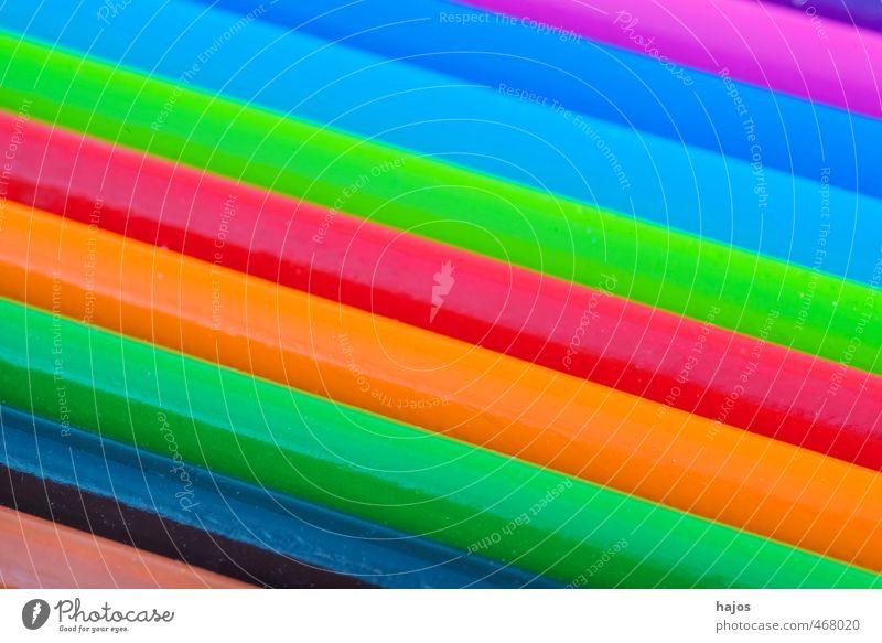 Buntstifte Schule Kunst Design leuchten Fröhlichkeit Kreativität Schreibstift Verschiedenheit Farbstift Vielfältig Auswahl Schreibwaren Farbenspiel Einschulung