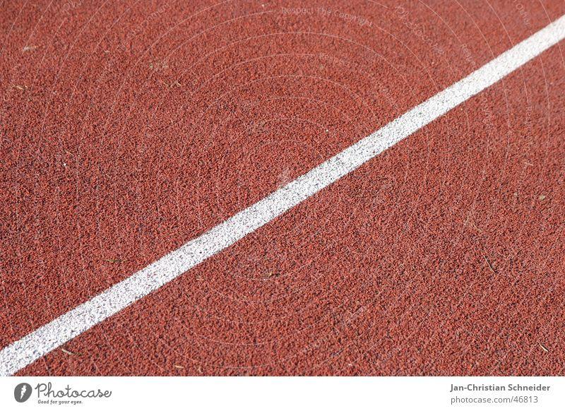 laufbahn 2 weiß Sonne rot Sport Linie laufen Eisenbahn Bodenbelag Streifen Reihe Sportveranstaltung Sportler Lebenslauf Untergrund