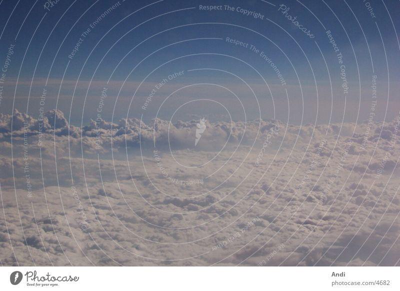 Über den Wolken Natur Himmel Ferien & Urlaub & Reisen Fototechnik