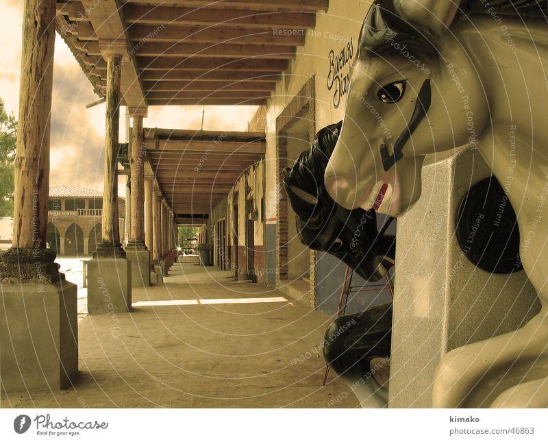 Aporo's Horses alt Pferd Spielzeug Amerika Mexiko Sepia