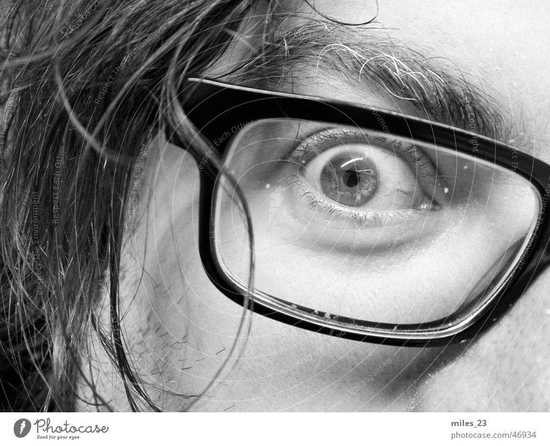 Das Auge Gesicht Auge Brille