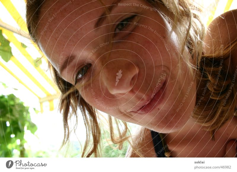 Jasmine :) Frau Glück lachen Fröhlichkeit