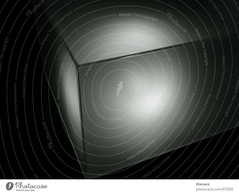 leuchtwürfel weiß schwarz dunkel Stil Lampe hell Beleuchtung Glas Glas Design Klarheit Bar Möbel Wohnzimmer durchsichtig Cocktail