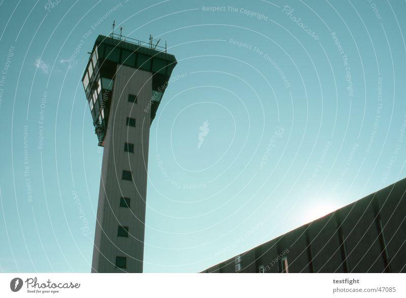 airport Himmel Sonne Sommer Flugzeug Tower (Luftfahrt) Flughafen Kroatien Abdeckung Rijeka