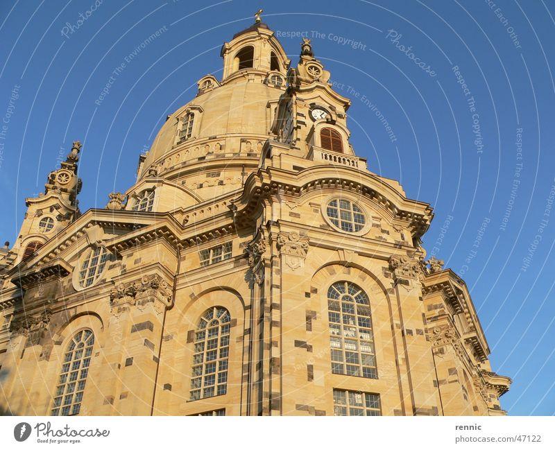 Frauenkirche.Dresden.Okt05.1 Religion & Glaube Elbe Erneuerung Neumarkt