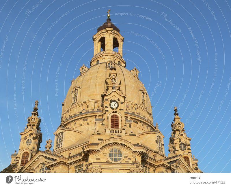 Frauenkirche.Dresden.Okt05.2 Religion & Glaube Elbe Erneuerung Neumarkt