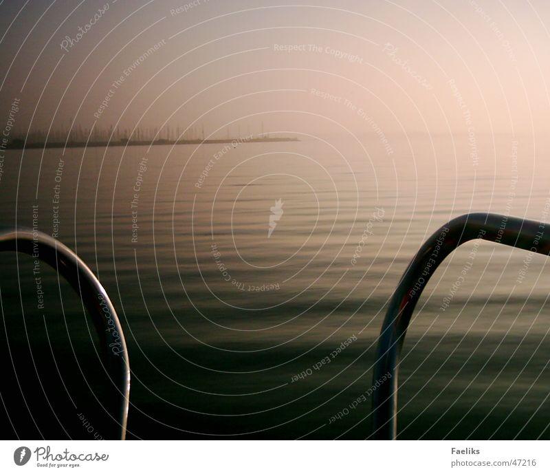 Land in Sicht I Sonne Wellen Wind Hafen Amerika Segeln Schiffsbug Hindeloopen