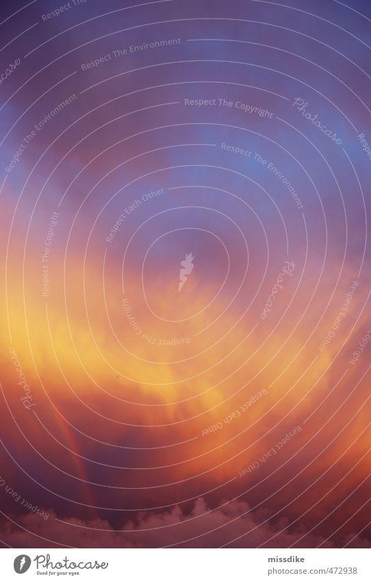 abendgold Himmel Natur blau rot Wolken Umwelt gelb Religion & Glaube Glück Stimmung rosa Horizont orange Wetter Luft