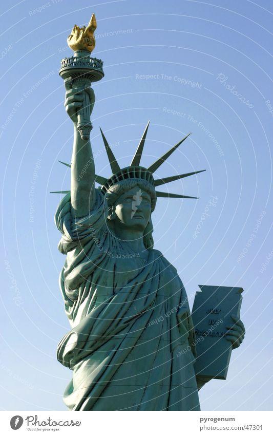 Freieis für Alle Freiheit Eis frei Statue Amerika Wahrzeichen Freiheitsstatue New York City Fackel