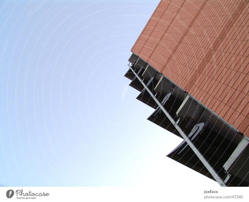 anbetungswürdige sonnenflügel Himmel Haus Gebäude Perspektive Elektrizität Flügel Bauwerk diagonal Sonnenblende
