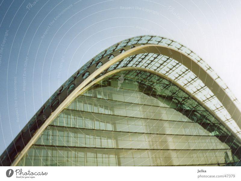 Berliner Bogen in Hamburg kalt Architektur Gebäude Glas Bauwerk Bürogebäude