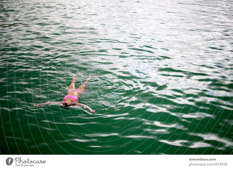 Chillmodus Schwimmen & Baden Ferien & Urlaub & Reisen Sommer Sommerurlaub Sonne Sonnenbad Meer Insel Wellen Erholung Ewigkeit Freiheit Frieden Glück Leben