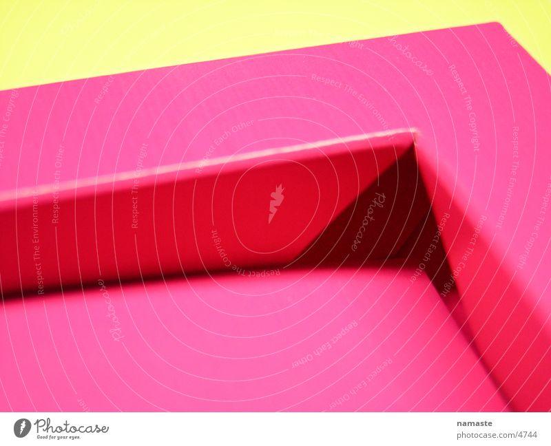rosa pappkante Karton Pappschachtel verrückt Kunst Kunsthandwerk Freude