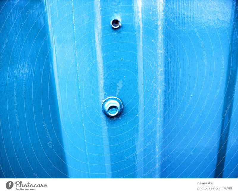 stahlblechwand2 Industrie blau stahl stahlblechwand