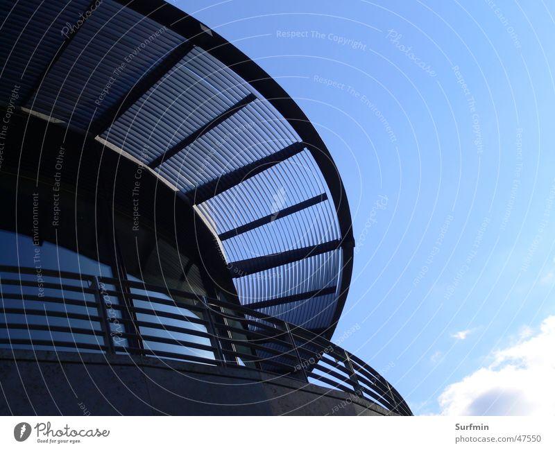 Himmel aus Glas Fassade Dach Stahl