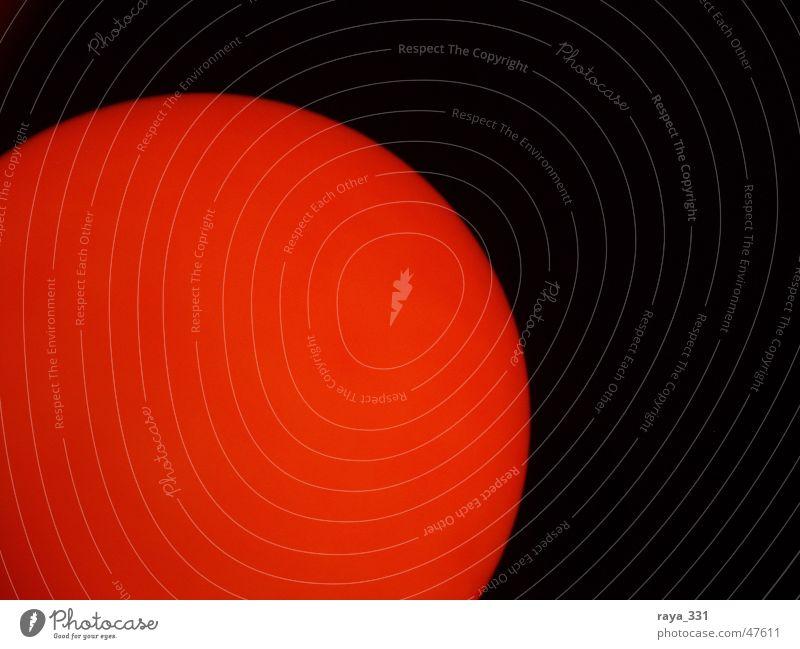 Feuerball_1 rot Lampe orange Brand Ball rund Kugel brennen Aggression glühen Lichtschein feurig