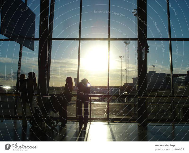 Stockholm Airport Himmel Sonne Familie & Verwandtschaft Flughafen Stockholm Stockholm-Arlanda Airport
