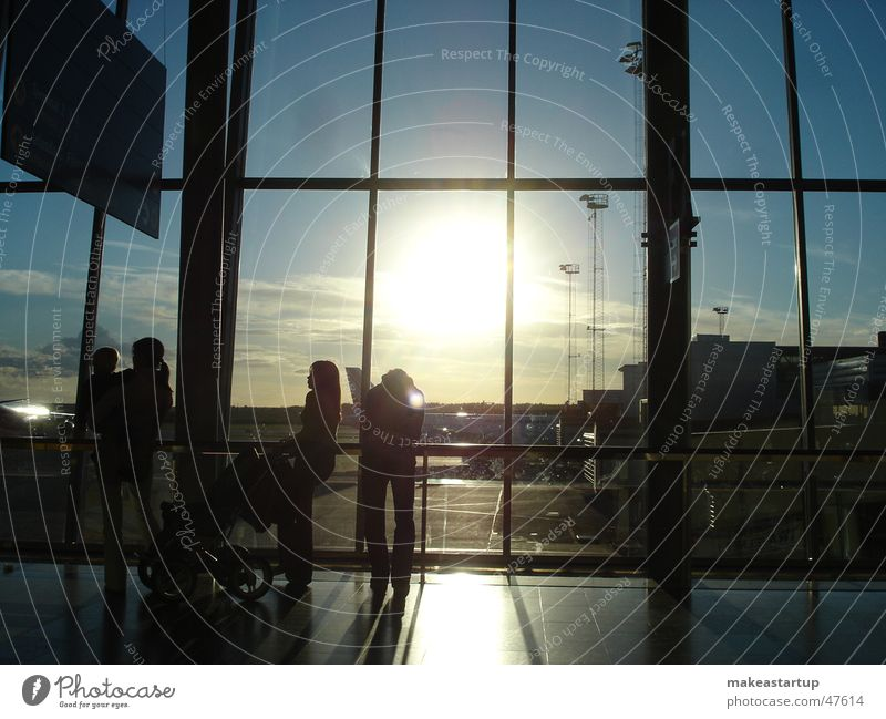Stockholm Airport Stockholm-Arlanda Airport Familie & Verwandtschaft Sonne Himmel Flughafen