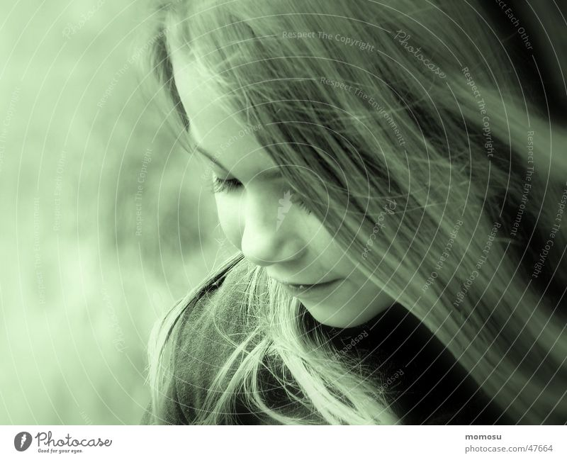Jenny Kind Mädchen Gesicht Auge Haare & Frisuren Mund Nase