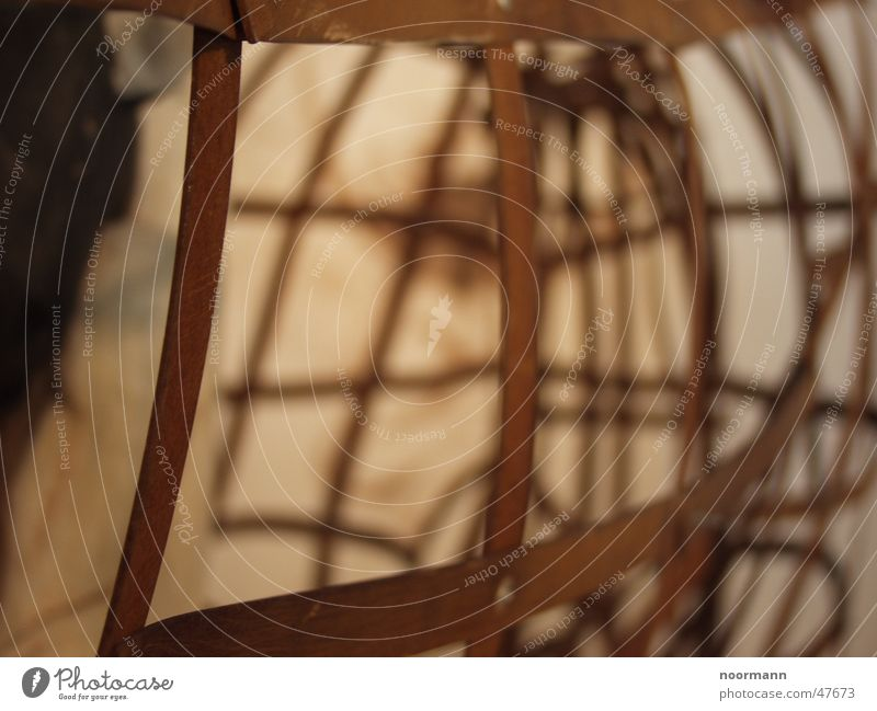Gitter, rund Kunst rund Netz Rost eng Eisen kariert Gitter Rechteck Kunstwerk