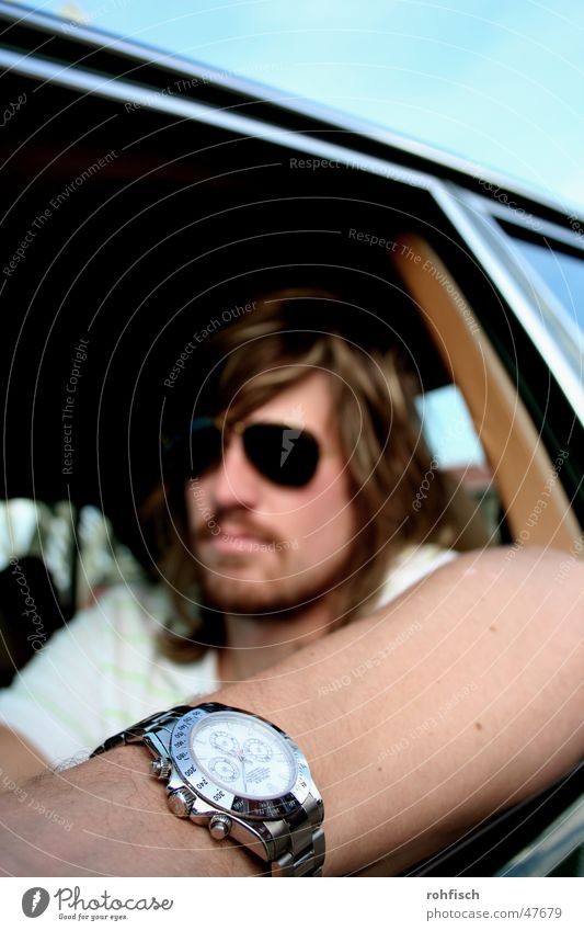 Daytona Mann Uhr Typ Sonnenbrille Macker