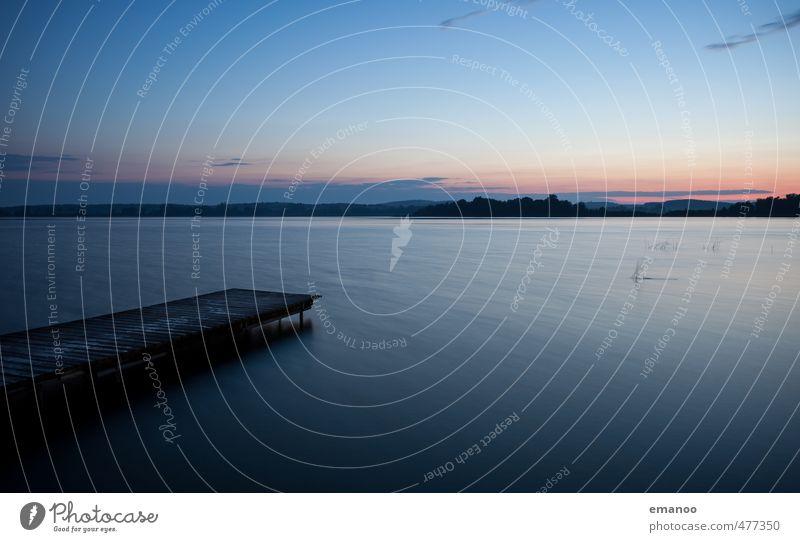 Oberuckersee Himmel Natur Ferien & Urlaub & Reisen blau Wasser Sommer Landschaft Strand Ferne dunkel kalt Küste Freiheit Holz Schwimmen & Baden See