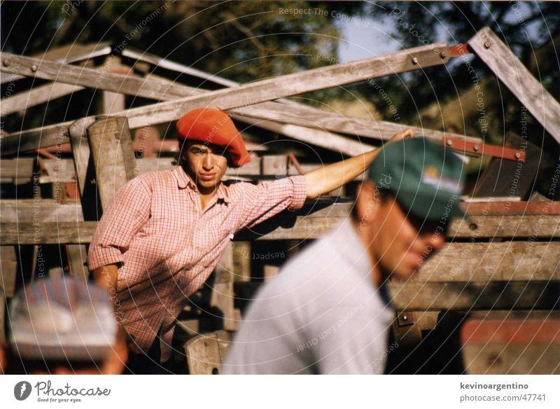 Felix de La Pampa Landwirtschaft Kuh Cowboy Rind Gaucho