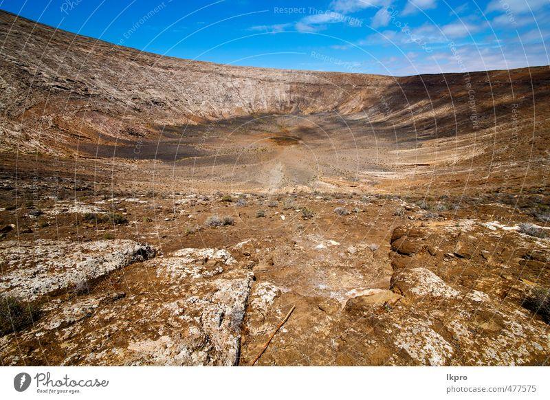 Los Vulkane Vulkangestein Stein Himmel Hügel Ferien & Urlaub & Reisen Tourismus Ausflug Abenteuer Sommer Insel Berge u. Gebirge Natur Landschaft Pflanze Sand