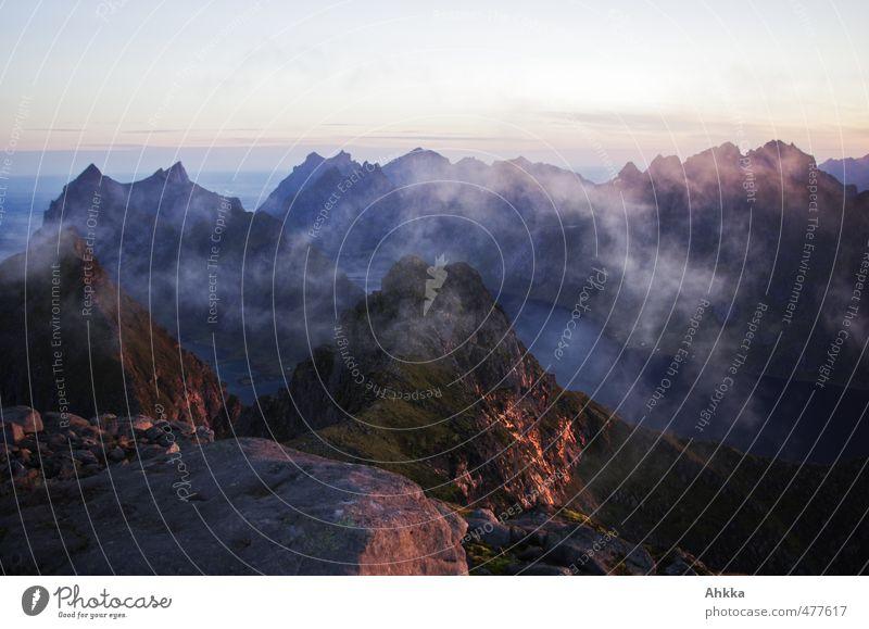 Lofoten VIII harmonisch Wohlgefühl Zufriedenheit Sinnesorgane ruhig Meditation Ferien & Urlaub & Reisen Abenteuer Ferne Freiheit wandern Natur Landschaft