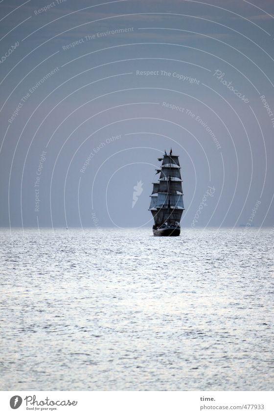 Du suchst das Meer Himmel Ferien & Urlaub & Reisen Wasser Meer Einsamkeit Ferne Wege & Pfade Freiheit Horizont träumen Luft Wellen Tourismus Ausflug Abenteuer Romantik