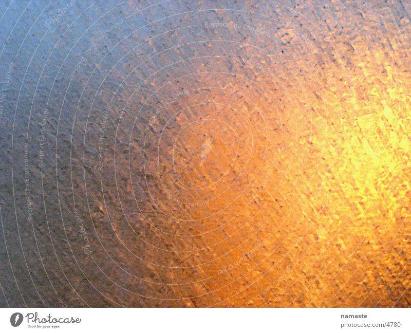 blechwand Licht Farbenspiel Dinge lichtspiegeling Metall