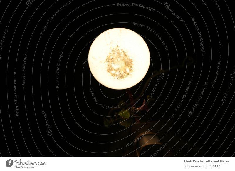 Möchtegern Mond Lampe dunkel hell