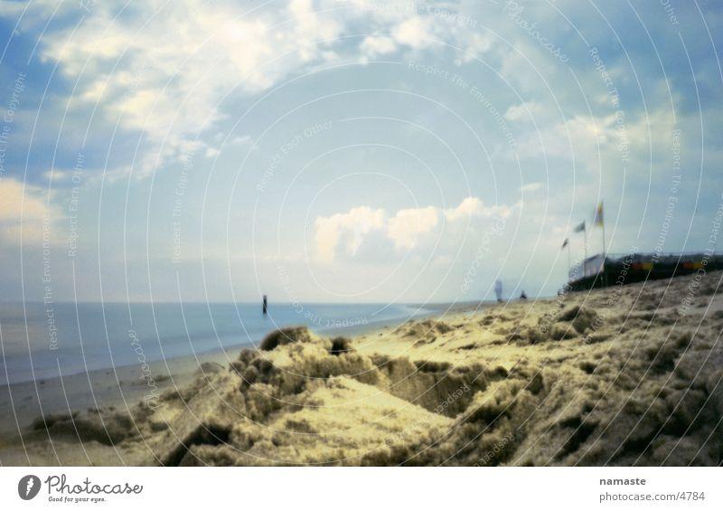 strand2 Meer Strand Ferien & Urlaub & Reisen Sand Niederlande