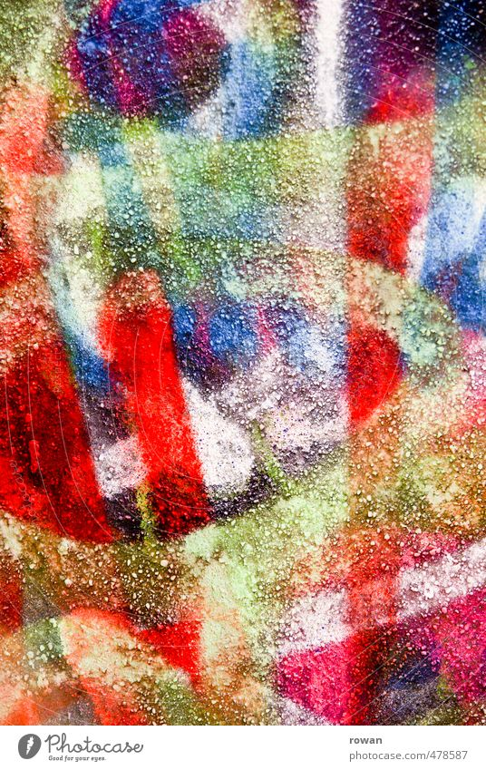 bunt Stadtzentrum Mauer Wand Fassade ästhetisch trendy verrückt mehrfarbig Graffiti Farbe Farbenspiel Spray Tagger Streetlife Straßenkunst sprühen streichen