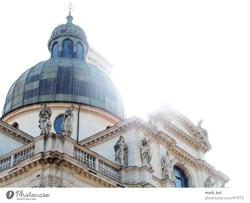 Chiesa di Monte Berico Vicenza Kuppeldach Statue Religion & Glaube Sonne Lampe monte