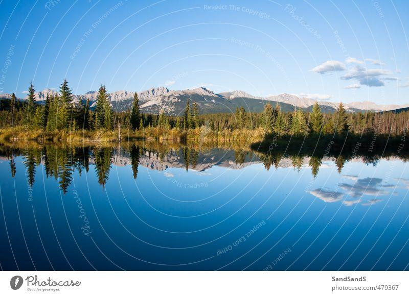 Himmel Natur Ferien & Urlaub & Reisen blau schön Sommer Baum Landschaft Berge u. Gebirge Wege & Pfade Küste See natürlich Felsen Park wandern