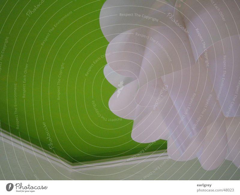 Hansen's Grün und die alten Schweden weiß grün Lampe Stil Raum Design modern Ecke Decke