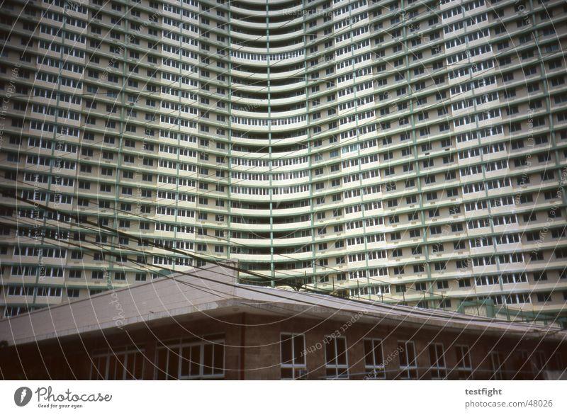 havanna Stadt Haus Architektur Gebäude Fassade Hochhaus Hotel Kuba Havanna Hochhausfassade