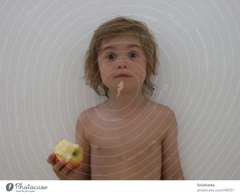 Schreck Kind Mädchen Gesicht Schrecken