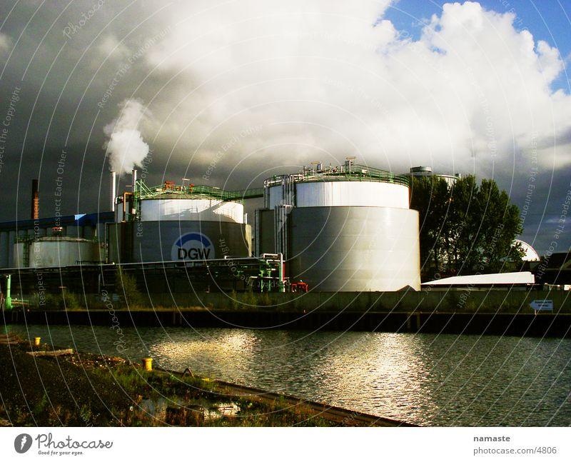 ihambigu Dortmund dunkel Fabrik Industrie Hafen Fluss Bach Wasser Rhein
