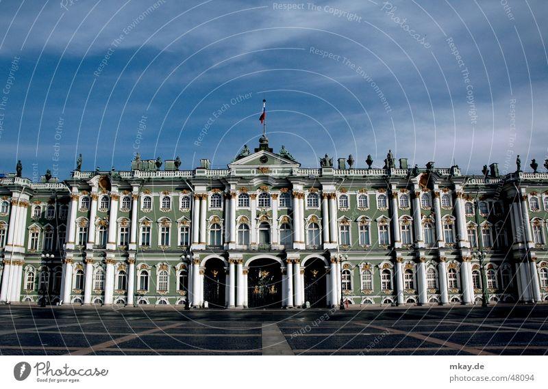 Kunstwelt Kultur Russland Kunstwerk St. Petersburg Winterpalast Berühmte Bauten