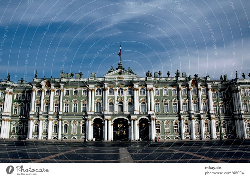 Kunstwelt Winterpalast Kultur Kunstwerk Berühmte Bauten St. Petersburg Russland