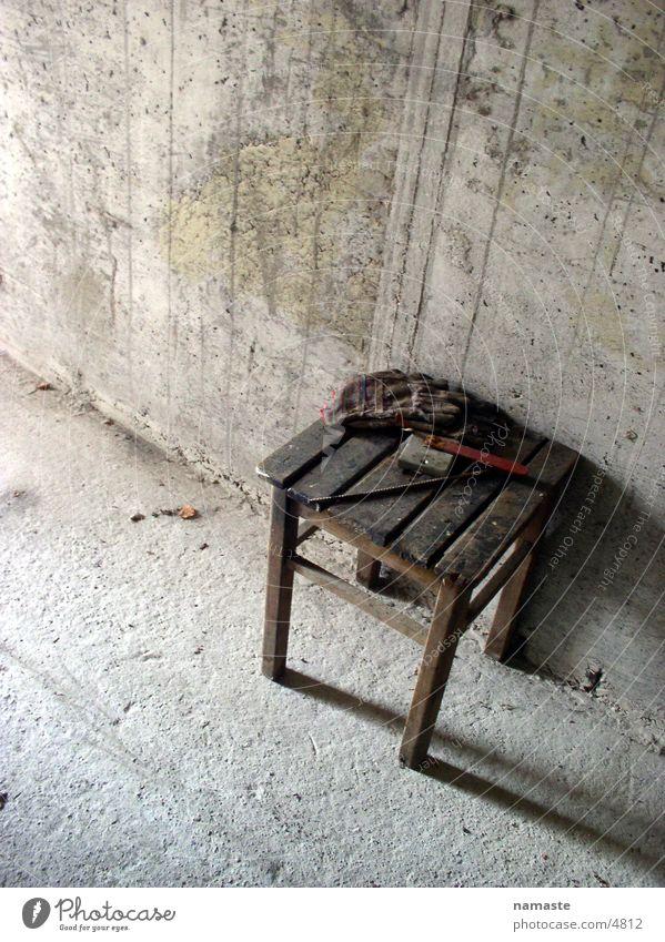 bunker chair Beton trist Freizeit & Hobby Bunker Stuhl
